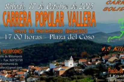 III Carrera Solidaria y Popular en Valle de Matamoros (Badajoz)