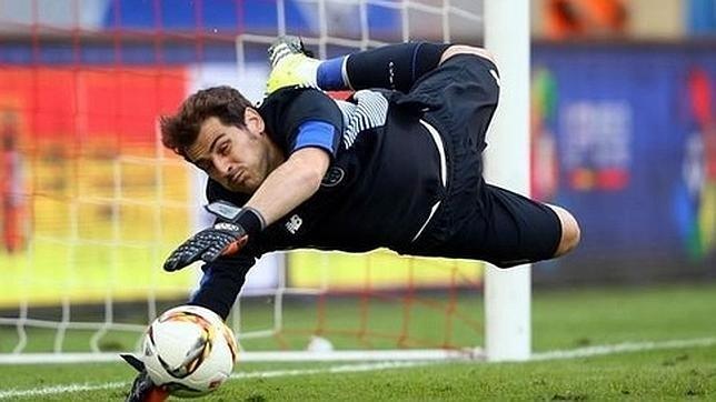 Casillas reconoce haber sufrido en España