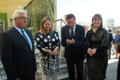 Pilar del Olmo inaugura la Feria Expobiomasa