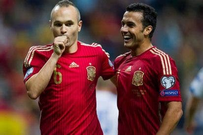 """Pedro: """"Fue nuestro mejor partido desde el Mundial"""""""