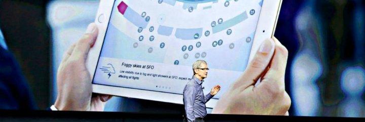 iPad Pro: Apple presenta una tablet gigante
