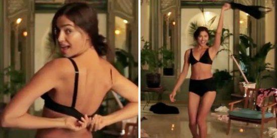 El descocado striptease de Irina Shayk que te dejará fuera de combate