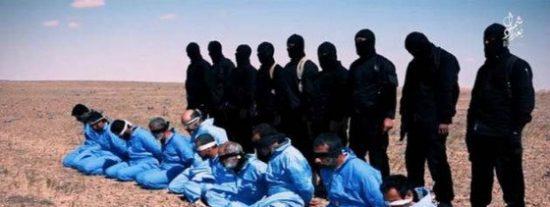 [VÍDEO] El Daesh viste ahora de azul a sus víctimas: así asesina a 10 cristianos