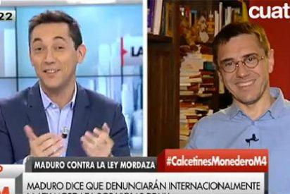 """¿Entrevista a Monedero o colegueo puro y duro?: """"Hola Javier, ¿qué tal estás, amigo?"""""""