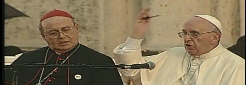 """El Papa, a los jóvenes cubanos: """"No se olviden, sueñen, y cuenten sus sueños"""""""