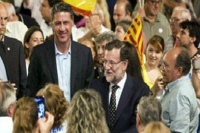 """Los independentistas boicotean un acto de Rajoy y Albiol en Reus: ¡""""Independencia, fascistas, fuera""""!"""