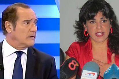 """Antonio Jiménez le pinta la cara a la 'Kichi woman' Teresa Rodríguez: """"Es una ignorante o una sectaria"""""""
