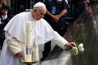"""El Papa en la Zona Cero: """"¡Dios, te pedimos que las vidas que se han perdido acá no se hayan perdido en vano!"""""""