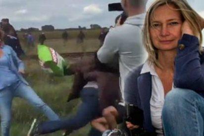 La reportera que repartió 'coces' entre los refugiados puede ser condenada a 5 años de cárcel