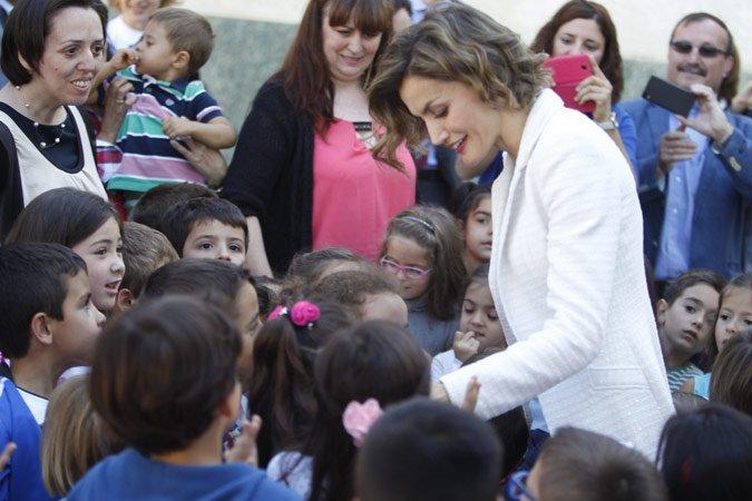 La Reina Letizia eligió Palencia para inaugurar el curso escolar