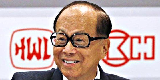 Li Ka-shing, el hombre más rico de Asia, favorito para comprar Iberwind a Magnum