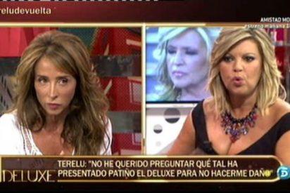 Telecinco explota el morbo y 'enfrentará' a Terelu y a María Patiño en el 'Deluxe'
