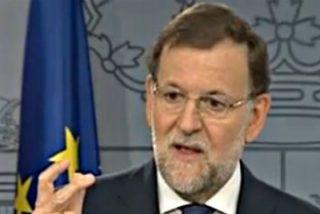 """Mariano Rajoy: """"Los partidarios de la ruptura de España no tienen ni el apoyo de la ley ni el de la mayoría de la sociedad catalana"""""""