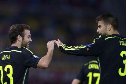 """Juan Mata: """"No ha sido el partido más bonito, pero hemos hecho los deberes"""""""