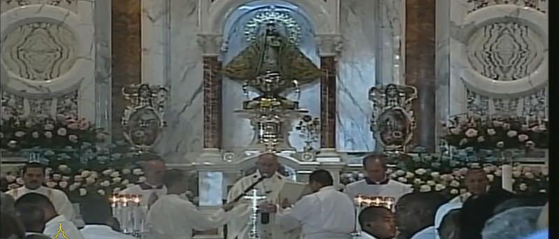 """El Papa en el Cobre: """"La patria cubana nació y creció al calor de la Virgen de la Caridad"""""""