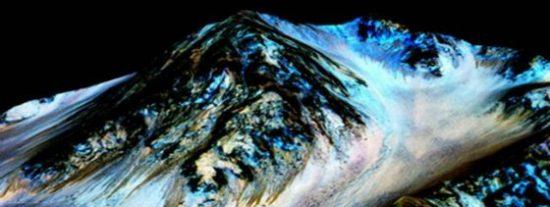 La increíble zona de Marte donde la NASA ha encontrado agua líquida