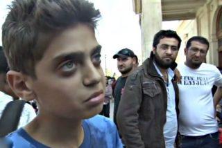 Las palabras de este niño refugiado desnudan a Europa y arrasan en Internet