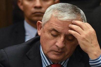 Meten entre rejas al expresidente de Guatemala por presunta corrupción