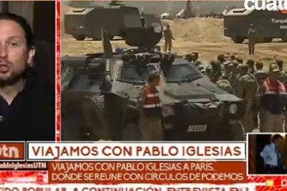 Atracón televisivo: Mediaset se pone 'morada' de Pablo Iglesias