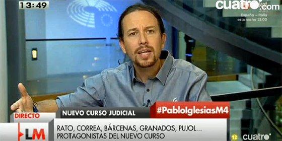 """Hermann Tertsch apunta y dispara contra Pablo Iglesias: """"Él dice quién es golpista y Maduro lo encarcela"""""""