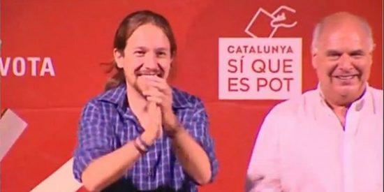 """La marioneta de Pablo Iglesias, Lluís Rabell, quiere llevar a la ruina a Catalunya: """"Iríamos mejor con una Syriza en Barcelona"""""""