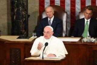 """El Papa en el Capitolio: """"Una Nación es considerada grande cuando defiende la libertad"""""""