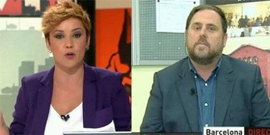 Cristina Pardo acorrala a un huidizo Junqueras que no se moja sobre Mas