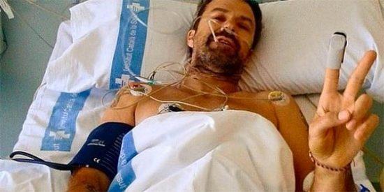 El cantante de 'Jarabe de Palo', Pau Donés, sufre cáncer de colon