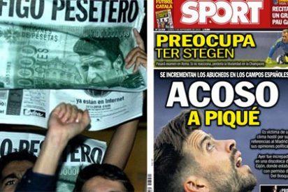 """Sport, el diario que realizó una cacería contra Figo o Cristiano Ronaldo, se queja ahora del """"acoso"""" a Piqué"""