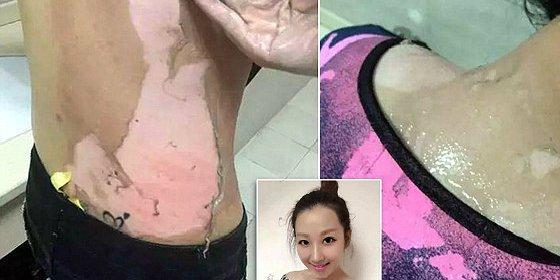 El vídeo del camarero chino que le abrasa la cara a una cliente con agua hirviendo... ¡por protestona!