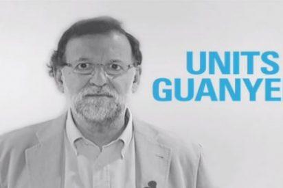 Con este desparpajo habla Rajoy en catalán junto a sus colegas de faena