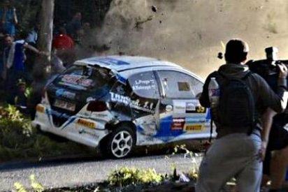 Mueren seis espectadores tras ser arrollados por un coche en el Rally de A Coruña