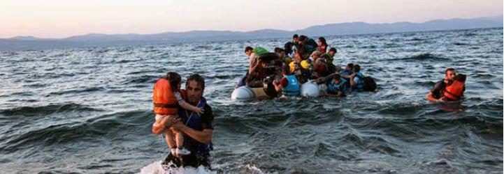 Los refugiados sirios llegan a Europa tras ser rechazados por el mundo árabe