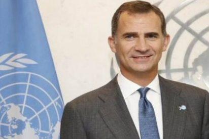 """El Rey pide en la ONU """"actuar como un solo mundo"""" para acabar con la pobreza"""