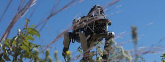 Así practican los marines de EEUU con el robot militar de Google que no tiene cabeza... y sí cuatro patas