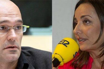 """Pepa Bueno no da crédito con Raül Romeva: """"Como Artur Mas se ha puesto al frente de un movimiento de la calle, ¿eso absuelve sus pecados políticos?"""""""