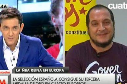 """Cree el ladrón que todos son de su condición: David Fernández critica """"un uso torticero y soez"""" del icono Pau Gasol y repite lo mismo"""