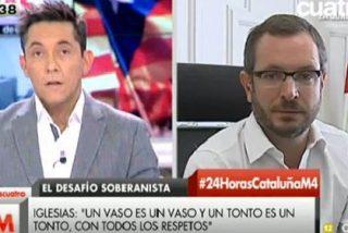 """Tremendo corte de Maroto a Javier Ruiz: """"No reescriba mis palabras porque vamos a tener un problema"""""""