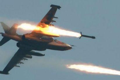 El mortífero ataque ruso contra los yihadistas del Daesh a vista de dron