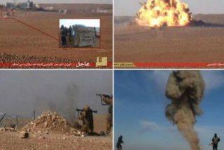[VÍDEO] El yihadista suicida vuela con su furgoneta 'tuneada' una base saudí