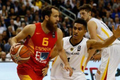 España apea (76-77) a Alemania y se clasifica con angustia a los octavos de final del Eurobasket