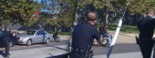 VÍDEO- Con esta frialdad 'profesional' mata la Policía a un discapacitado en silla de ruedas