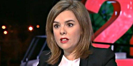 Soraya Sáenz de Santamaría se meterá en la boca de 'El Hormiguero'