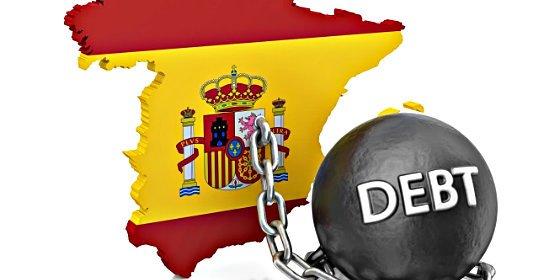 La deuda pública de España cae al 97,7% del PIB, por primera vez desde 2008