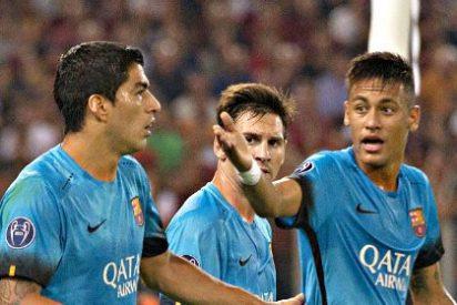 El Barça de Messi se atasca en Roma en su estreno en Champions