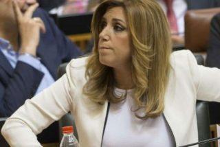Susana Díaz paga a 50 funcionarios a los que tiene mano sobre mano en su casa