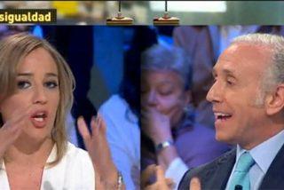 """Inda le calla la boca a una alterada Tania Sánchez: """"A mí lecciones de moral, ni una"""""""