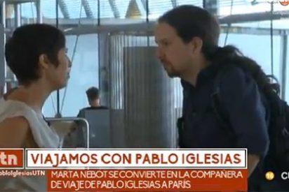 """El totalitario Iglesias coarta a Nebot: """"¿Te vas a portar bien, Marta?"""""""