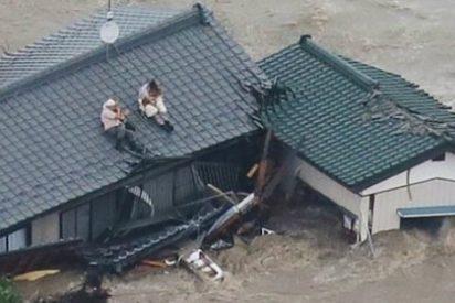 Los vídeos del terrible tifón Etau que está arrasando todo Japón