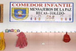 La Junta de Castilla-La Mancha cede a Mensajeros de la Paz el comedor del colegio público de Recas
